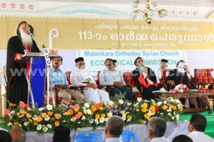 Seminar at Parumala Seminary