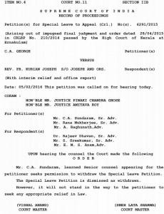 Manthalier Court order