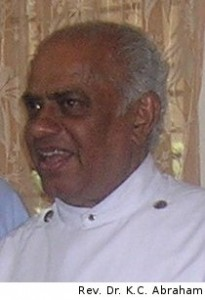 Rev. Dr. K. C. Abraham